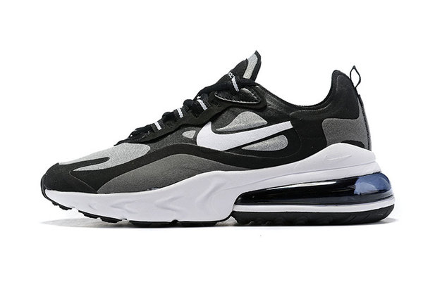 NIKE AIR MAX 270 REACT NEGRAS Y GRISES