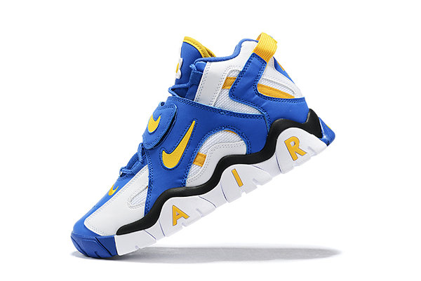 NIKE AIR BARRAGE MID GS WARRIORS