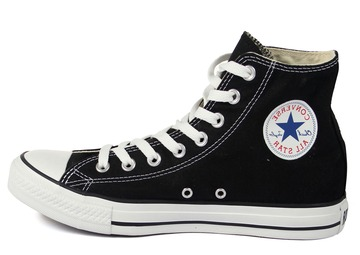 CONVERSE ALL STAR HIGH NEGRAS Y BLANCAS