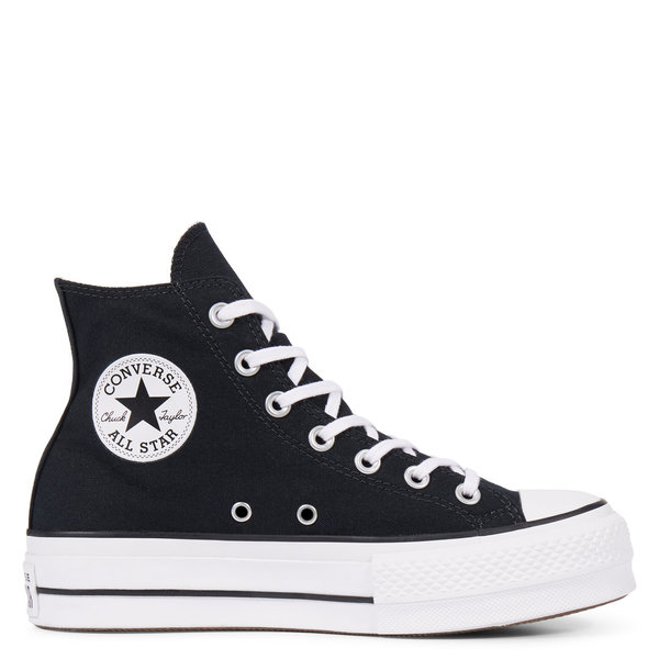 CONVERSE CLASSIC ALL STAR HIGH NEGRAS PLATAFORMA