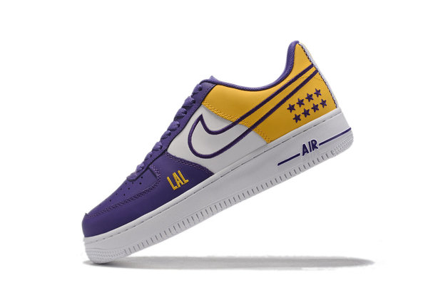 NIKE AIR FORCE x NBA LOS ANGELES LAKERS