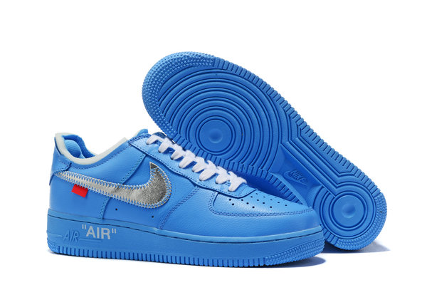air force 1 x off white azul