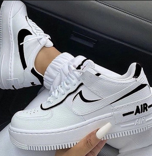air force 1 shadow blancas